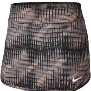 "Nike Printed Court Tennis Pure Skort 12"" Large"